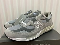 New Balance 992 Grey Silver White Ds New Never Worn M992gr Usa