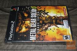 Metal Gear Solid 3 Snake Eater Exclusive W/ Dvd Playstation 2 Ps2 New