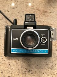 Mint Polaroid Colorpack Ii Land Camera With Flash Perfect Working Condition