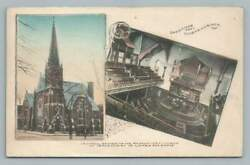 Lds Mormon Church Independence Mo Antique Latter Day Saints Hand Colored 1910s