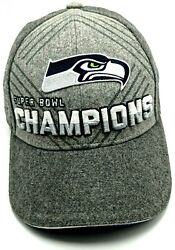 Seattle Seahawks 2014 Superbowl Champions Adjustable Hat Cap Youth Child Size