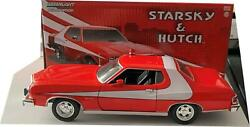Starsky And Hutch Ford Gran Torino 1976 In Red / White 124 Scale Greenlight