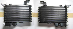 Mazda Genuine Oem Rx-7 Rx7 Fd 3s Left And Right Side Oil Cooler Core Pair Set