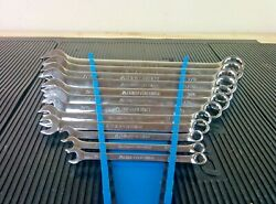 Ak258 Armstrong Usa 12pc Sae Combination Wrench Set 5/16 - 1 Missing 7/16