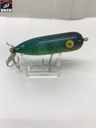 Used Heddon Magnum Torpedo Ngl Late Sample Popper Lure Green Yellow Color