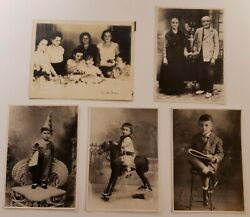 Antique Photo Lot Of 57 And 2 P/c Of A Family From Santiago De Cuba 1900's-1940's