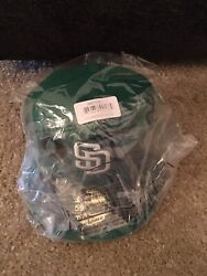 New Era San Diego Padres 2015 Mlb 7 1/8 St. Patrick's Day Se Fitted Hat Sealed