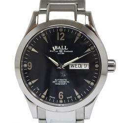 Ball Watch Engineer 2 Ohio Automatic Nm2026c-s5j-bk Menand039s Watch Pre Owned U0331