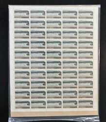 Kengo Canada Stamp Full Sheet 726 Pl1 Cbn High Value Fundy Sealed Tagged @s64