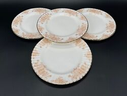 Royal Albert 2007 Old Country Roses Gold 8 Salad Plate X 4