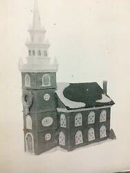 Department Dept 56 Old North Church Heritage New England Village Series 59323