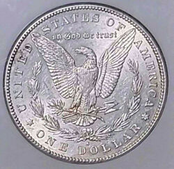 1884-s Morgan Silver Dollar Ngc Au-55 Strong Breast Feathers-looks Like An Au-58