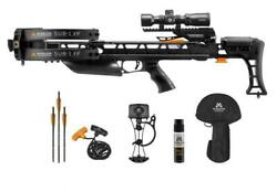 Mission By Mathews Sub-1 Xr Crossbow / Xbow Black With Pro Kit - Bk035