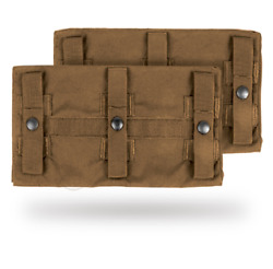 Crye Precision Jpc Long Side Armor Plate Pouch Set - Size 2 6 X 11.5 Coyote