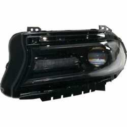 Headlight For Dodge Charger 2015 Driver Side Oe Replacement Halogen W/bulbs