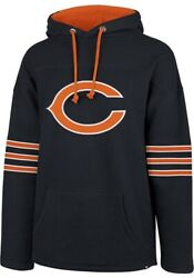 Chicago Bears Nfl '47 Brand Fall Navy Legion Embroidered Men's Pullover Hoodie