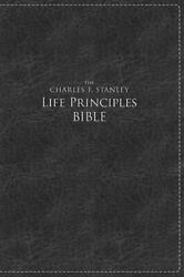 Nkjv, The Charles F. Stanley Life Principles Bible, Large Print, Leathersoft, ..