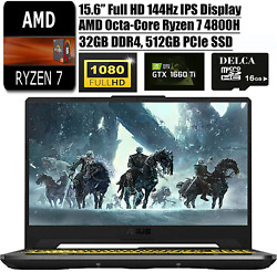 Asus Tuf A15 2020 Latest Gaming Laptop I 15.6 144hz Fhd I Amd 8-core Ryzen 7 48