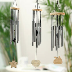 Outdoor Metal Wind Chimes Yard Wind Chime Window Bells Wall Hanging Decorations