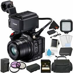 Canon Xc15 4k Professional Camcorder Bundle With 128gb Memory Card + Spare