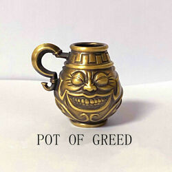 Yu-gi-oh Yugioh Pot Of Greed Resin Statue Brass Model Figure Toys Gift Display N
