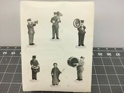 Dept. 56 Salvation Army Band Set Of 6 Christmas In The City 59854 New