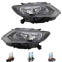 Headlight Left H11/h9/led For Nissan X-trail T32_t32 Incl. Osram Lamps Bulbs