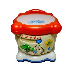 Leap Frog Learning Drum Educational Musical Interactive Lights And Sounds Vintage