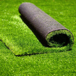 Conscience Trading Artificial Grass 7and039 X 69and039 483 Square Feet Realistic Fake Gr