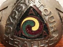 Vintage 1932 Ama Gypsy Tour Rally Souvenir Ring Free Size Very Rare Limited