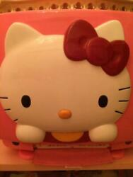 1989s Sanrio Hello Kitty 30th Crt Color Tv 14inch Pink Only 3000 Rare Anime