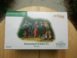 Dept 56 Dickensand039 Accessory Masquerading On All Hallowsand039 Eve Nib