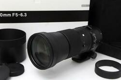 Extremely Beautiful Product | Sigma 150-600mm F5-6.3 Dg Os Hsm Contemporary For