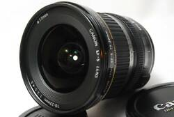 1861 Good Product Canon Canon Ef-s10-22mm F3.5-4.5 Usm With Lens Pouch