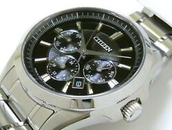 Citizen Nb2020-54e Stainless Steel Box Automatic Mens Watch Authentic Working