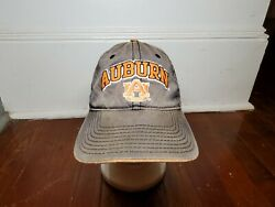 Vintage The Game Auburn Tigers Distressed Hat Cap Adjustable Spell Out