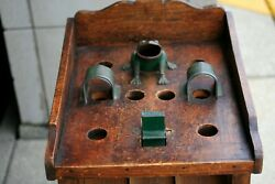 Antique French La Grenouile Frog Toss Game