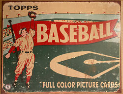 Vintage Replica Metal Sign Topps Baseball Full Color Picture Cards 40x31cm 1643