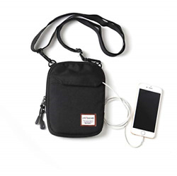Mini Crossbody Bag Small Shoulder Bag For Men Travel Wallet Passport Holder Mini $20.82