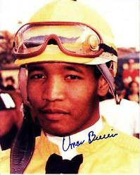 Omar Berrio Signed Autograph 8x10 Photo Picture Image Jockey Horse Racing