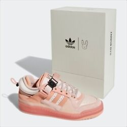 Bad Bunny Adidas Forum Low Bb The First Cafe Gw0265 Black Pink Us