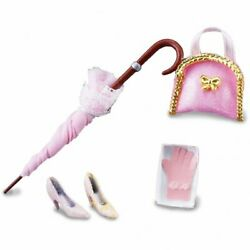 Dollhouse Miniature Reutter Womanand039s Accessory Set Gloves Umbrella And More 1.445/6