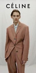 Bnwt Rare Celine Ss2017 Phoebe Philo Iconic Tailoring Suits Size36pants/38jacket