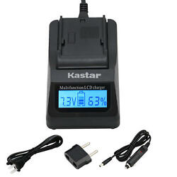 Bp-970g Battery And Lcd Fast Charger For Canon C2 Fv1 Fv500 Optura Ultura Vistura