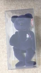 1st Edition 1997 Princess Diana P.e Pellets Ty Beanie Baby Mint New In Box
