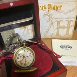 Unused Harry Potter Dumbledore Pocket Watch Serial Number 1900's Very Rare