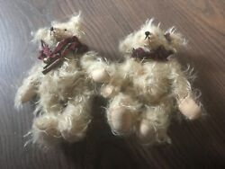 Mr Binx Bears By Emily Hartford Mohair And Lead Shot Filled
