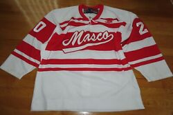 Sp Masco No. 20 Pro 52 Youth Hockey Jersey With Fighting Strap