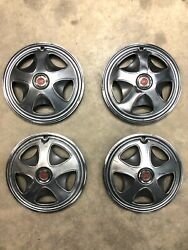 1970s Nissan Datsun 280z 14 Hubcap Wheel Rim Covers With Center Caps Used Oem