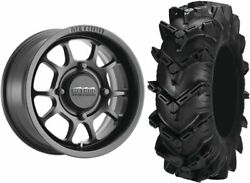 Mounted Wheel And Tire Kit Wheel 15x7 4+3 4/156 Tire 32x10-15 6 Ply
